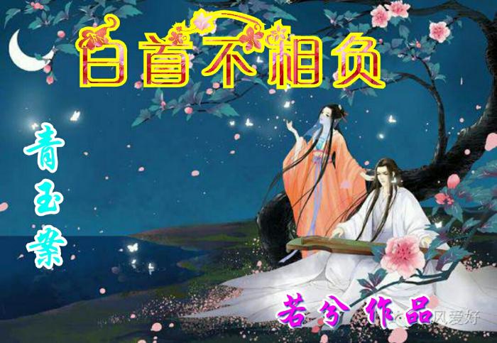 【听泉书苑】青玉案【白首不相负】